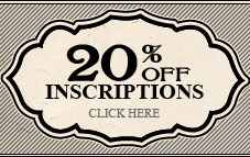 20% off Inscriptions