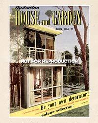 Australian House and Garden 1950